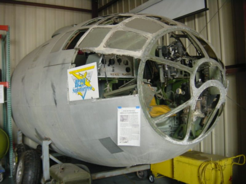 b29 4265401 at the stockton field aviation museum
